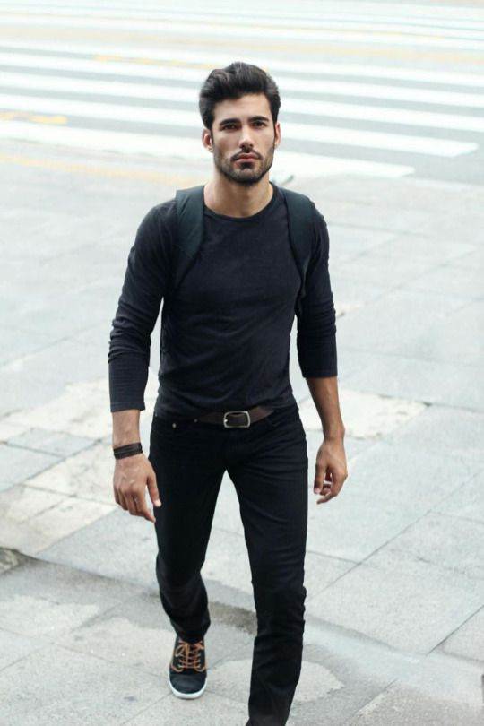 Friday style, Black outfit