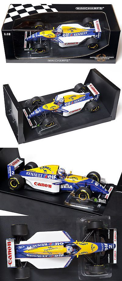 Formula 1 Cars 180270: Minichamps F1 1 18 1993 Alain Prost Wdc Williams Renault Fw15 W Race Livery -> BUY IT NOW ONLY: $349 on eBay!