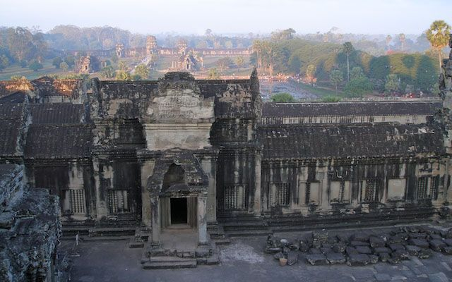 I stand where once only Kings and High Priests stood. Angkor Wat - 3rd level.