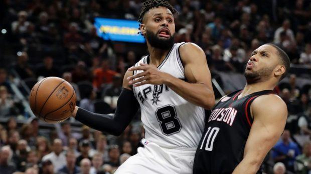 San Antonio Spurs vs. Houston Rockets – Final Scores Board Archive