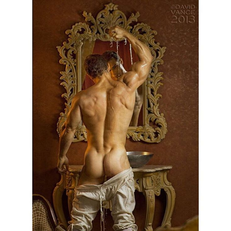 I guess you could say I'm an ass man. This surely is one of the most beautiful I've photographed.  ENZO JUNIOR  --  ARTE  by  DAVID  VANCE .