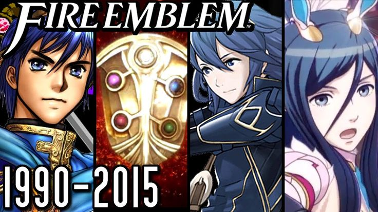 Fire Emblem All Intros 1990-2015 (Wii U, 3DS, GBA, SNES, NES) - Blade of Light to Tensei Crossover; From the first game way back in 1990, check out all the intros to the famous Fire Emblem series from Nintendo!