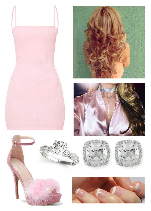 """Legally Blonde"" by thebumblebri ❤ liked on Polyvore featuring WithChic, Frederic Sage and SoGloss"