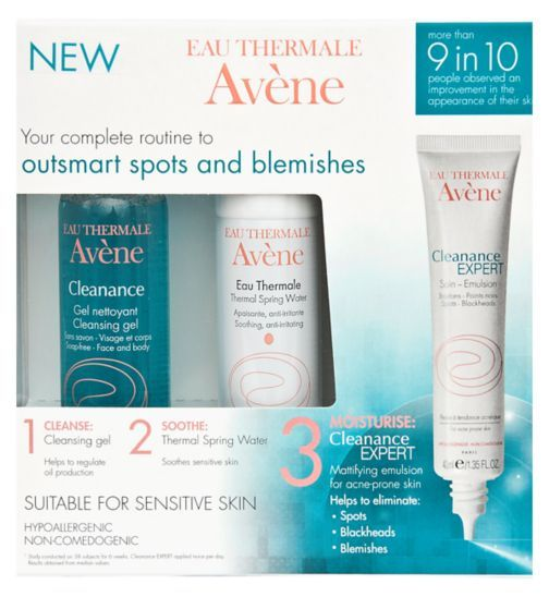 Avene Cleanance Anti-Blemish Expert Kit - Boots