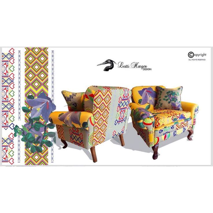 Another one on her way out, fully restored armchair,sold ! / Otra que se va pronto, poltrona completamente restaurada,vendida !#lottihaeger#art#architecture #arquitectura #pattern #flowers#colorful #color #colour #style #elegant #elegance #textiles #fabric #inredning #design #designer #decorating #decoration #decor #homedesign #homedecor #chair