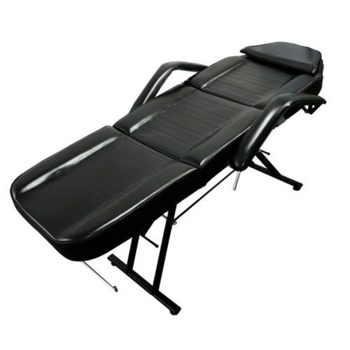 Salon-SPA-Black-Massage-Bed-Tattoo-Chair-Facial-Adjustable-Table-Beauty-basket