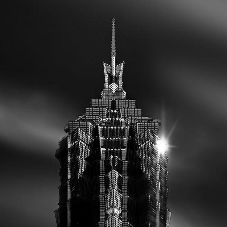 Jin Mao Tower - Photo by Amey Kandalgaonkar.