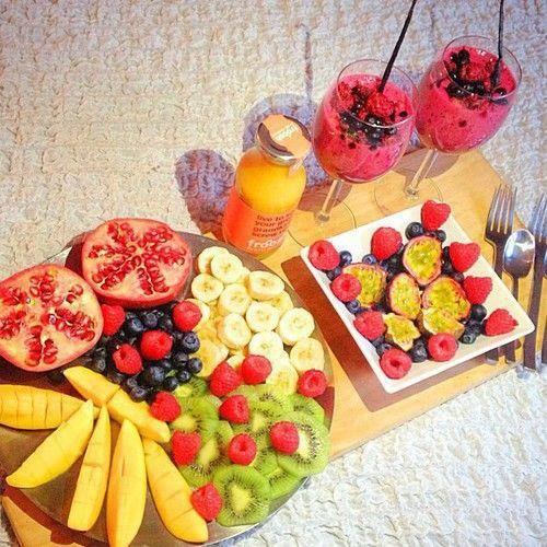 #healthy #kiwi #banana #fruits