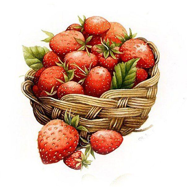 Картинки с анимацией фрукты, пожеланиями
