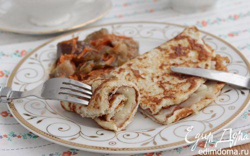 Овсяноблин на завтрак | Кулинарные рецепты от «Едим дома!»