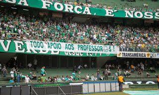 Até torcidas de futebol protestam contra tucano Beto Richa na final do Campeonato Paranaense. ~ TAPERUABA NOTÍCIAS