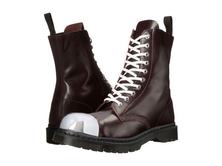 Dr. Martens Grasp External Fashion Steel Toe Cap Boot Oxblood US 12 EU 46 UK 11 #DrMartens #AnkleBoots
