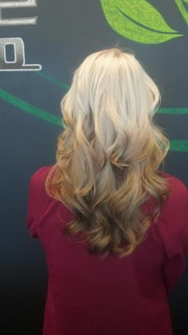 Reverse Ombre - Done by the lovely girls at Elle Marie Hair Studio :)