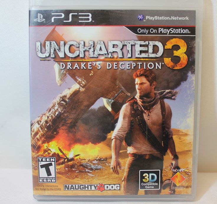 Uncharted 3: Drake's Deception (Sony Playstation 3, ...
