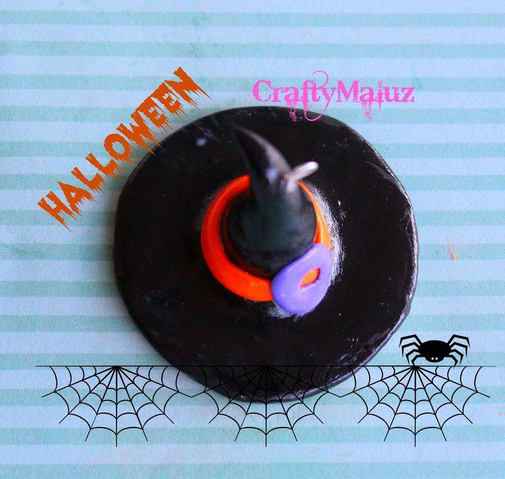 ♥ DIY : Sombrero de Bruja para Halloween de Arcilla polimerica