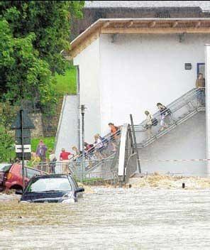 Olbernhau/Marienberg/Zschopau: Landratsamt löst nach sintflutartigen Regenfällen Katastrophenalarm aus - Freie Presse