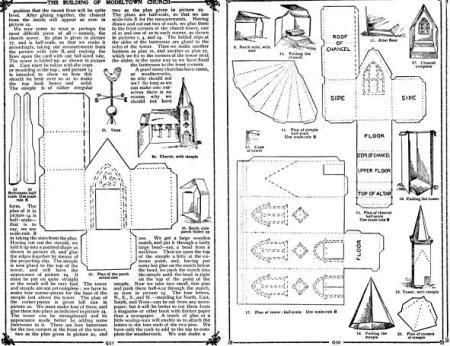 68 Best Paper House Templates Images On Pinterest | Paper Houses