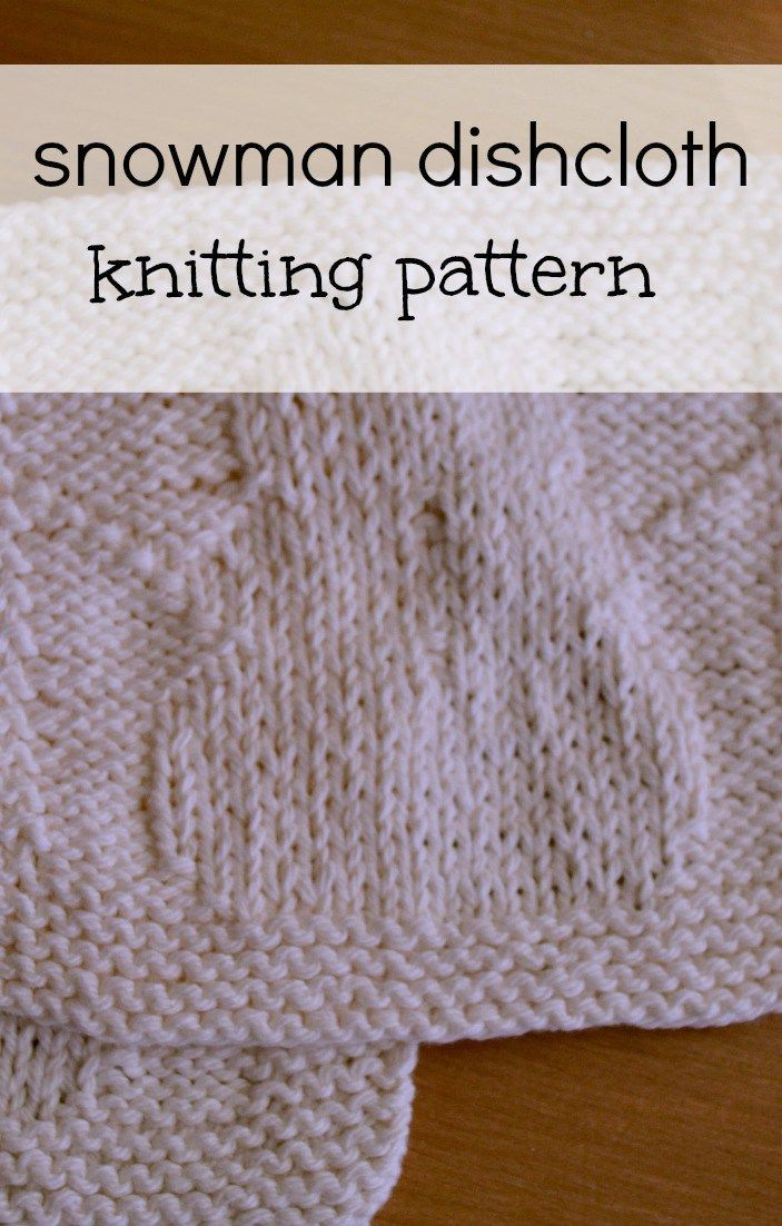 Free Knitted Dishcloth Patterns Snowman : 466 best images about Knit dishclothes on Pinterest Knitting, Free pattern ...