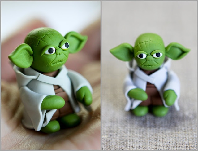master yoda fimo polymer clay tv playstation. Black Bedroom Furniture Sets. Home Design Ideas