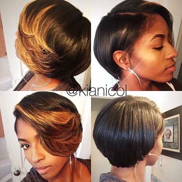 STYLIST FEATURE| This #bobcut✂️ and style by #DetroitStylist @kianicol on #MUA @faschaniecesta is beautiful She looks GORGEOUS #VoiceOfHair ========================= Go to VoiceOfHair.com ========================= Find hairstyles and hair tips! =========================