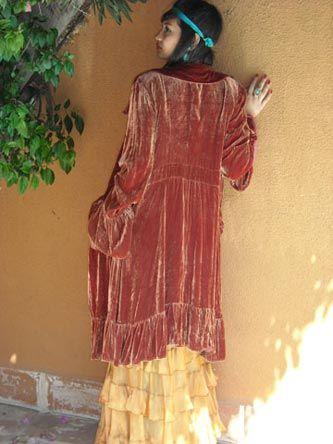 Princess Skirt & Princess Coat: Vieux Rose, Delicious Colors, Rose Estes