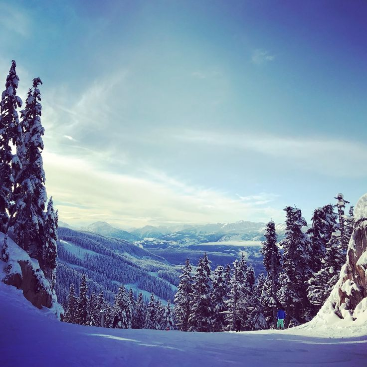 Whistler's ski area across two mountains - Whistler and Black-comb - enjoys a long season from November to May and an impressive and reliable average snowfall. To Book your #adventure : (888) 379-1003 BookOtrip.ca