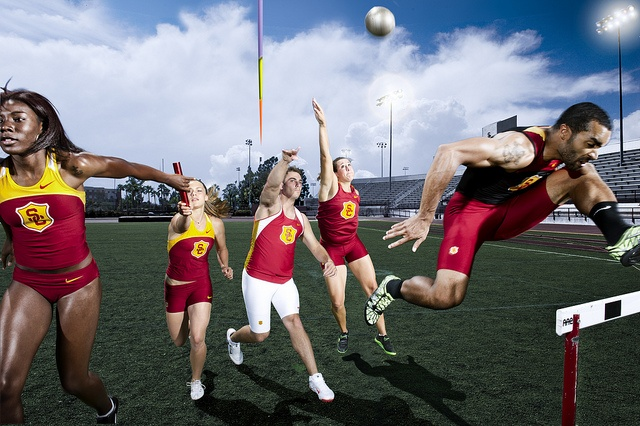 Track and Field Montage by USC | University of Southern California, via Flickr