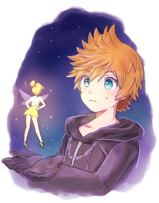 The best foreshadowing in any kingdom hearts game is Tinkerbell mistaking Roxas for Ven.