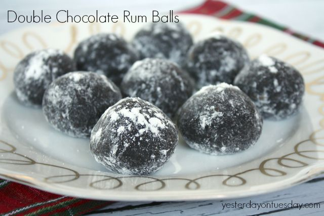 Double Chocolate Rum Balls