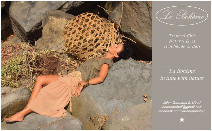 Luxury lifestyle brand in tune with nature,based in Ubud ,Bali.