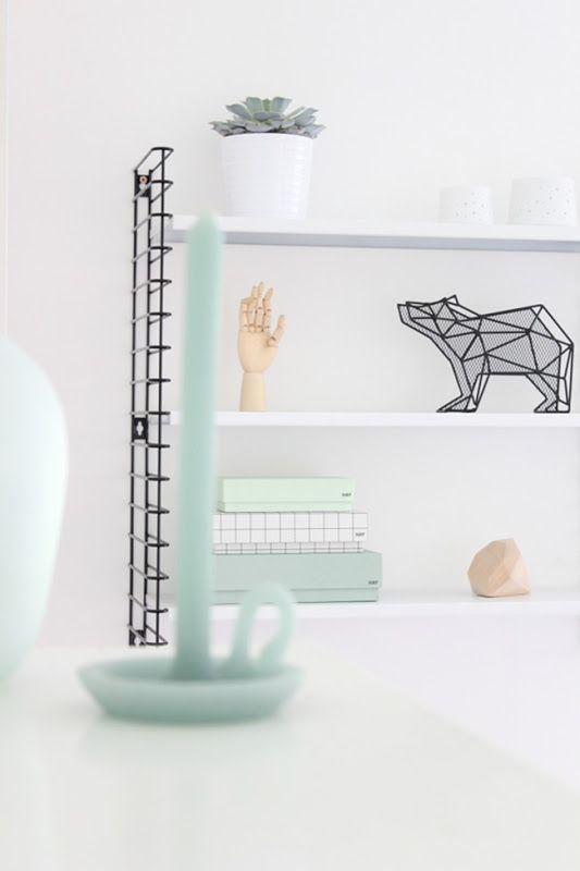 Via More Than Living | Tomado Shelf | HAY | Nordic | White