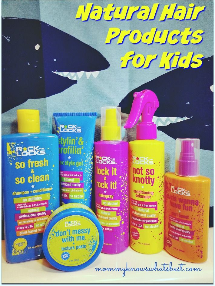 Rock the Locks Review Natural Hair Products for Kids that