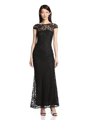 55% OFF Langhem Women's Elisa Gown (Black)