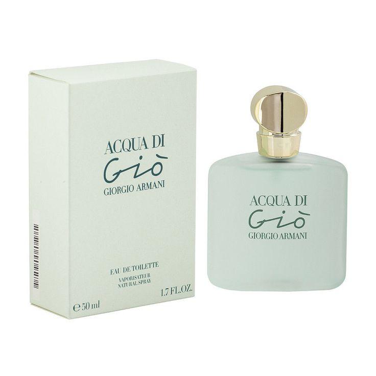 Acqua Di Gio by Giorgio Armani for Women's EDT Spray 1.7 oz/50 ml, New In Box #ARMANI