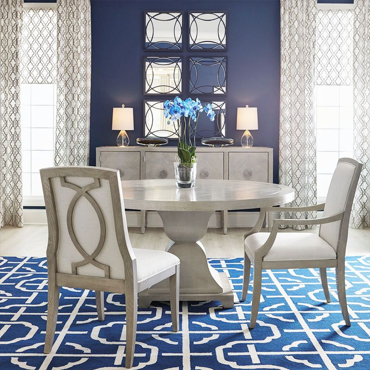 Best 25 blue dining rooms ideas on pinterest dinning for Navy dining room ideas