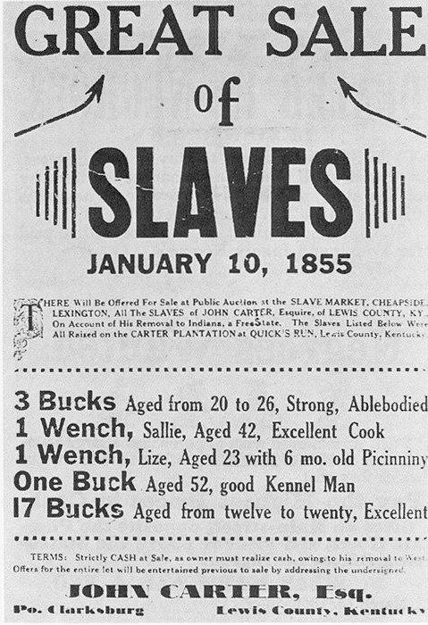 Slaves underpriced and undervalued as always