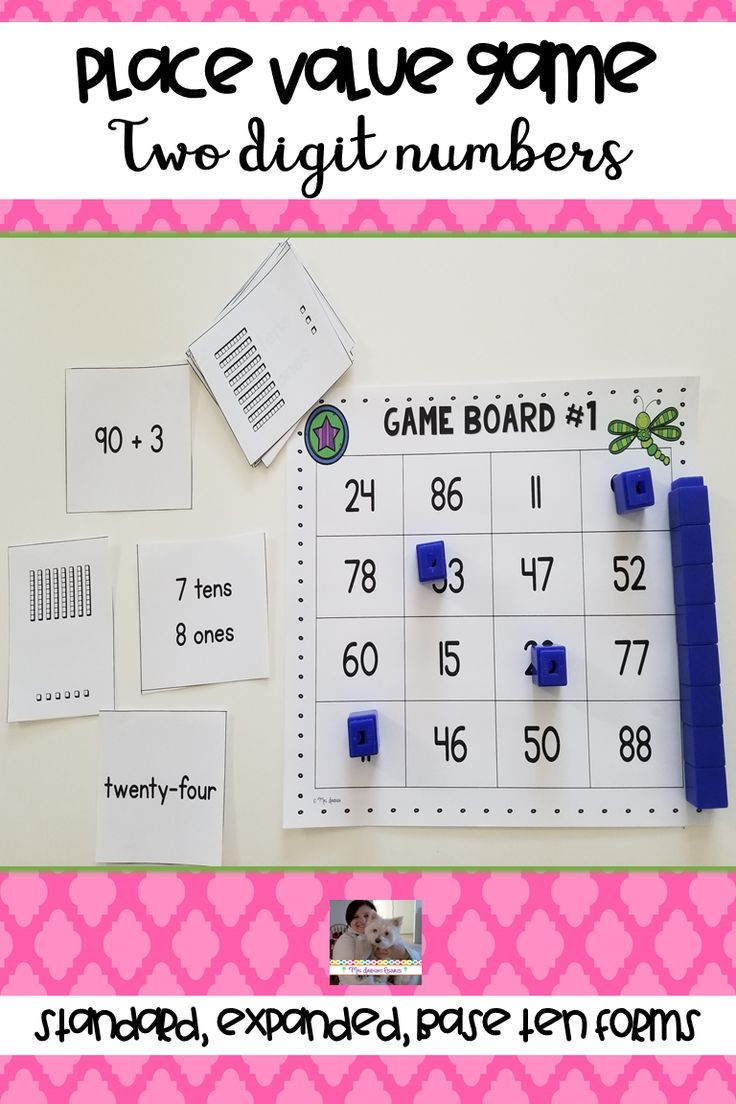 Place Value Game - Two Digit Numbers | ***TpT Great Products for all ...