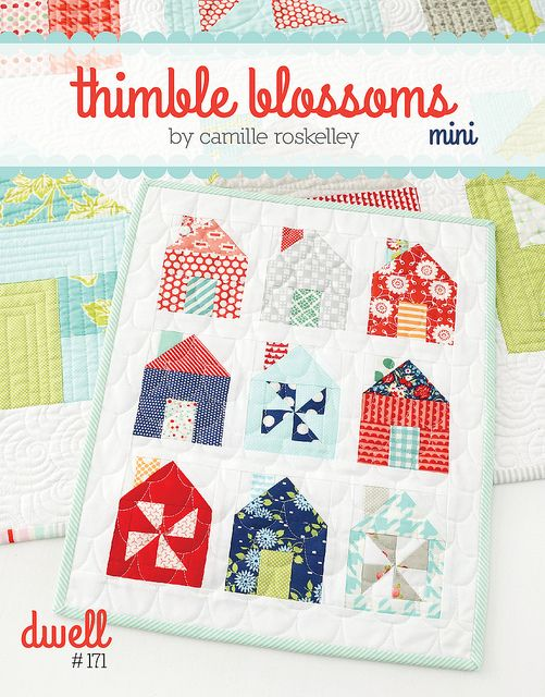 Adorable quilt minis by Camille Roskelley.