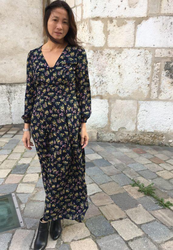 29464d1f43e Robe Magnolia – Deer and Doe – My Dress Made   šití, pletení ŠATY ...