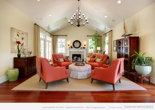 X  Traditional Family Rooms