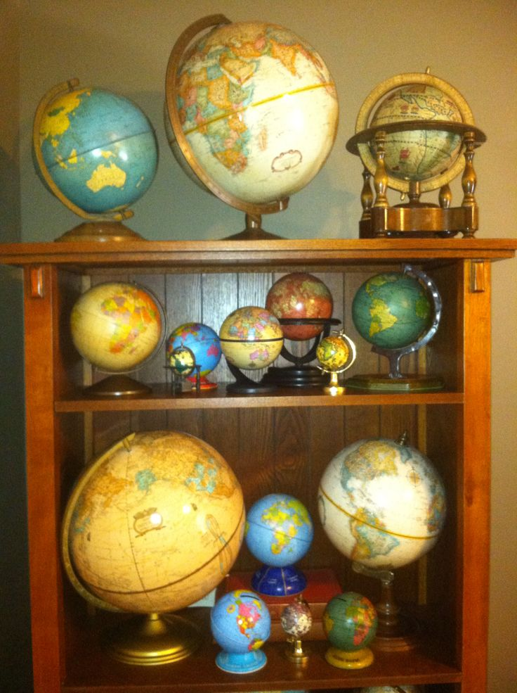 Vintage Globe Collection