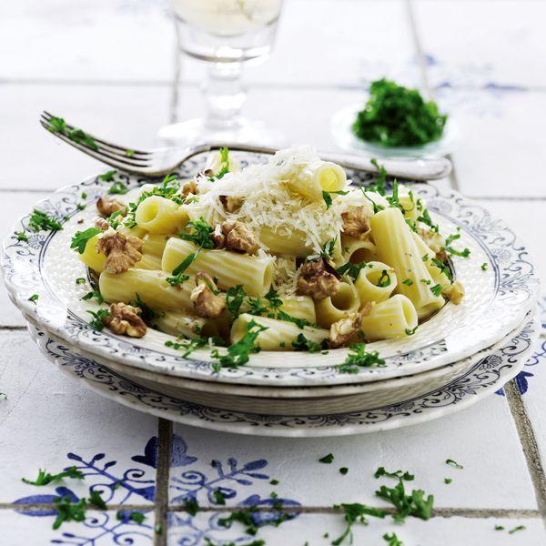 Pasta med mascarpone og gorgonzola