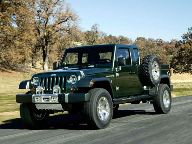 Decision on a Jeep pickup coming soon, truck could come on Wrangler or Fiat platform
