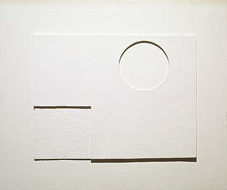 Ben Nicholson - 1935 (white relief)