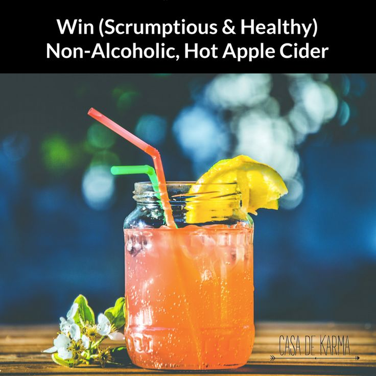IT'S GIVEAWAY TIME | Enter for your chance to win vegan-friendly, refined sugar-free, non-alcoholic HOT APLE CIDER.