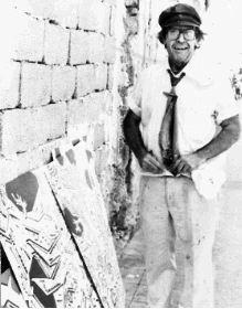 VITALIDAD. Imagen de archivo de José María Párraga. / TOMÁS / LV Párraga regresará en abril a la actualidad, rodeado del ambiente que vivió el artista