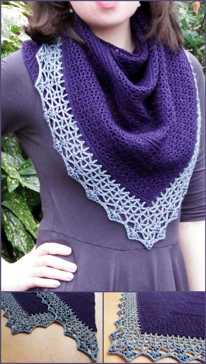 100 Free Crochet Shawl Patterns - Free Crochet Patterns - Page 14 of 19 - DIY & Crafts