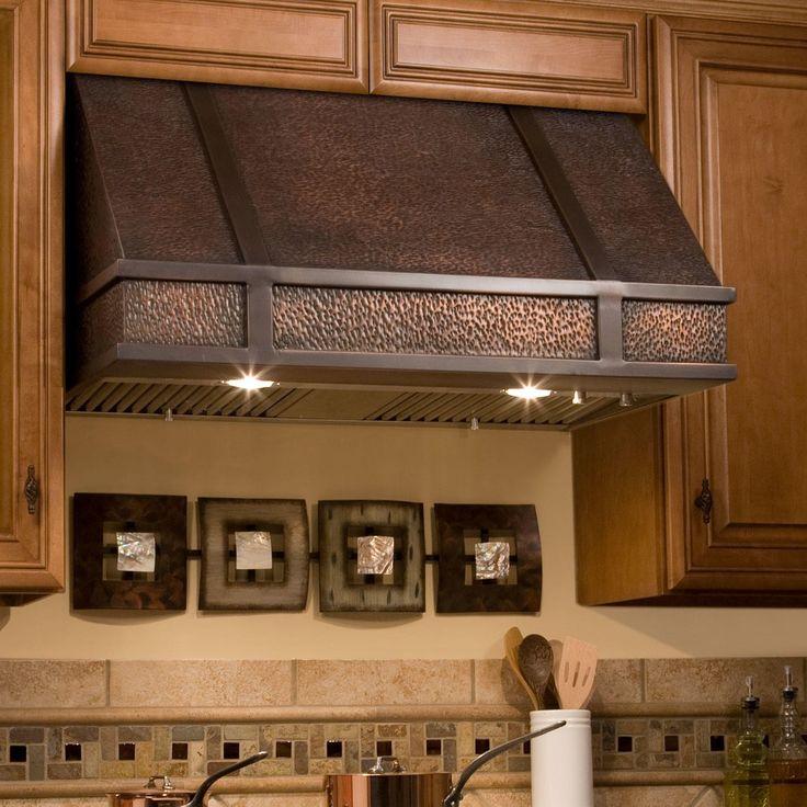 "range hoods   Home / Kitchen / 30"" Limoges Series Copper Wall-Mount Range Hood"