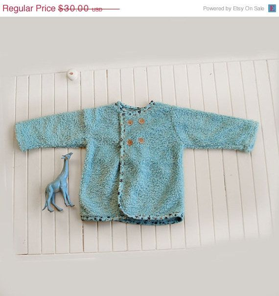 ON SALE Soft baby and toddler jacket free shipping by bubabella