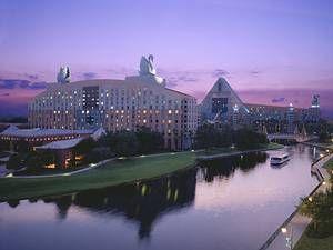 Swan and Dolphin Hotels, Disney World - Orlando, Florida